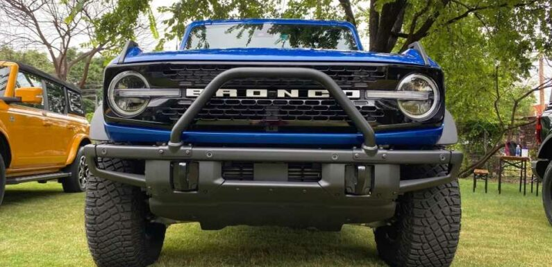 Here's the Ford Bronco Tailgating Gear You'll Want This Fall