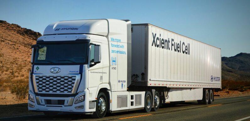Hyundai Xcient hydrogen fuel cell trucks, with over 1m km European mileage, will soon hit California roads – paultan.org