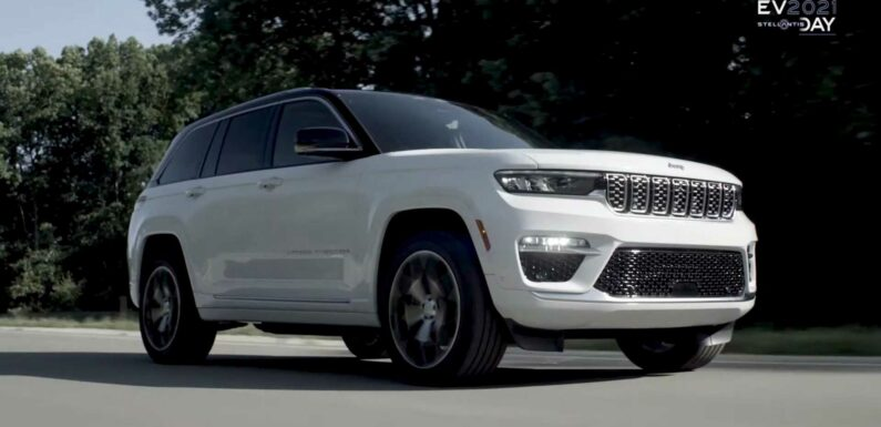 Jeep Reveals Grand Cherokee 4xe, Teases Autonomous Off-Roading In Future