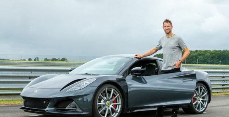 Jenson Button praises new Lotus Emira supercar as 'exceptional' in world first test drive