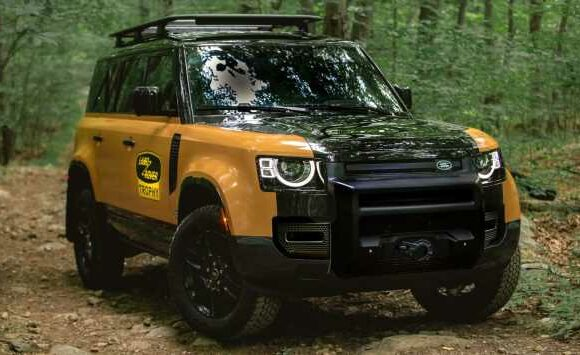 Land Rover unveils limited-run Defender Trophy Edition