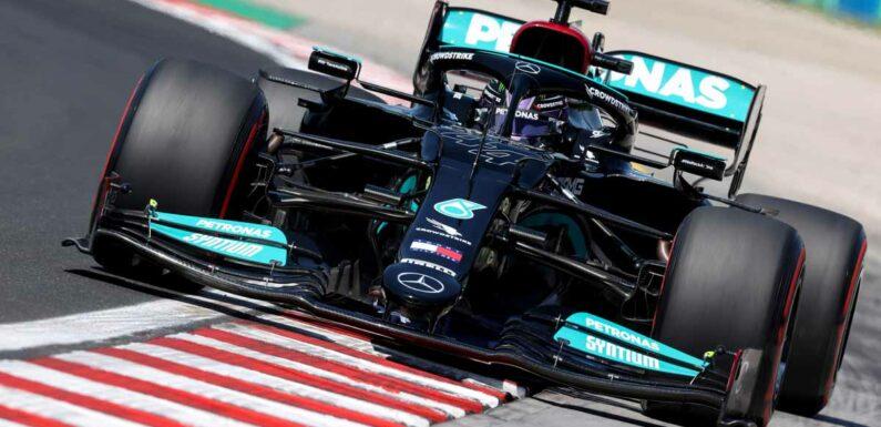Lewis Hamilton lost 3kg in weight in 'sauna' cockpit