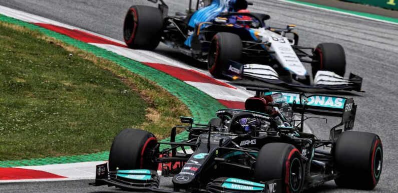 Lewis Hamilton sees George Russell as an 'interesting candidate' at Merc