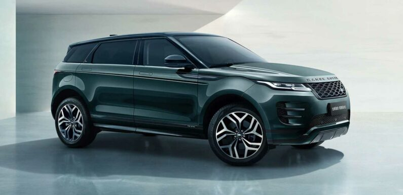 Long-Wheelbase Land Rover Range Rover Evoque L Debuts In China