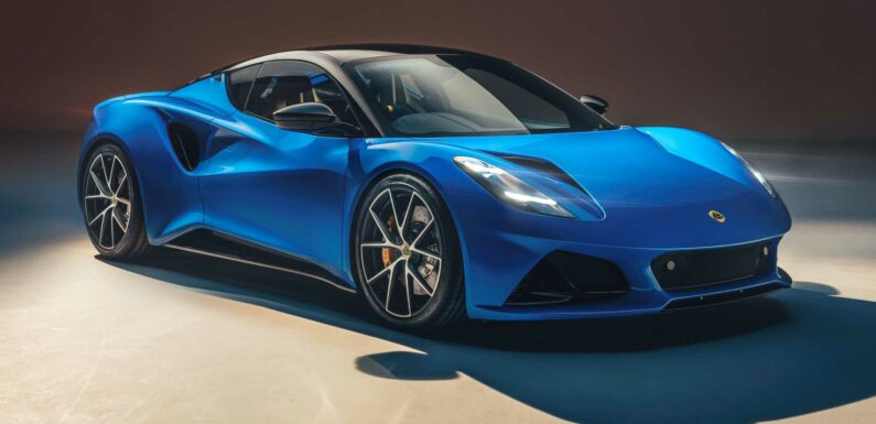 Lotus Emira Mid-Engined Sports Car Debuts With AMG And Toyota Power