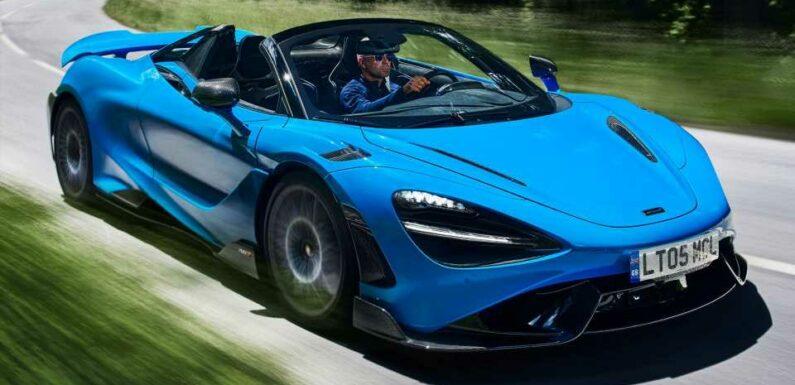 McLaren 765LT Spider Hits 60 MPH Quicker Than a Senna