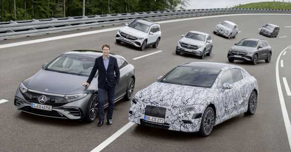 Mercedes-Benz to transition from EV-first to EV-only – fully-electric platforms and model range from 2025 – paultan.org