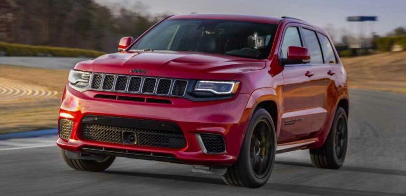New Jeep Grand Cherokee Trackhawk Won't Have Hellcat V8: Report