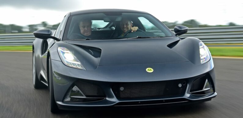 New Lotus Emira driven: first review by Jenson Button