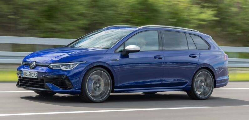 New load-lugging Volkswagen Golf R Estate packs 316bhp