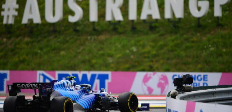 Nicholas Latifi's FW43B 'horrible' and 'amazing' in Austria | Planet F1