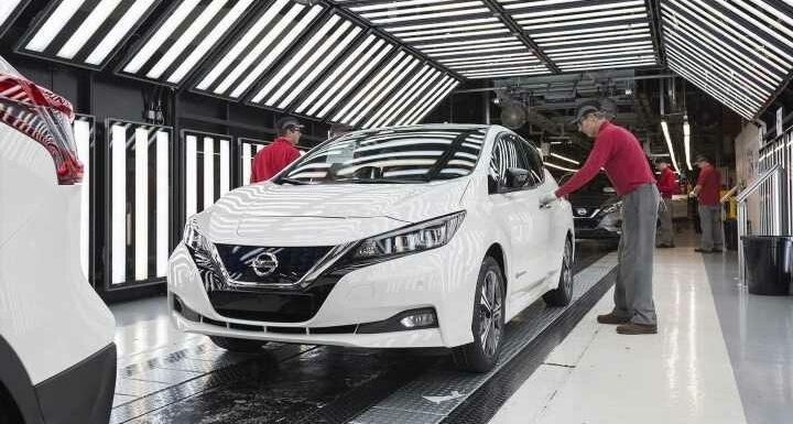 Nissan unveils £400m EV hub in Sunderland