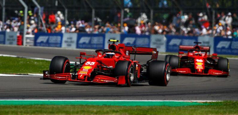 Positive Carlos Sainz says Ferrari 'delivered' at Silverstone