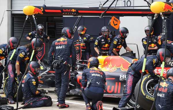Red Bull found a cut on Max Verstappen's tyre at second stop