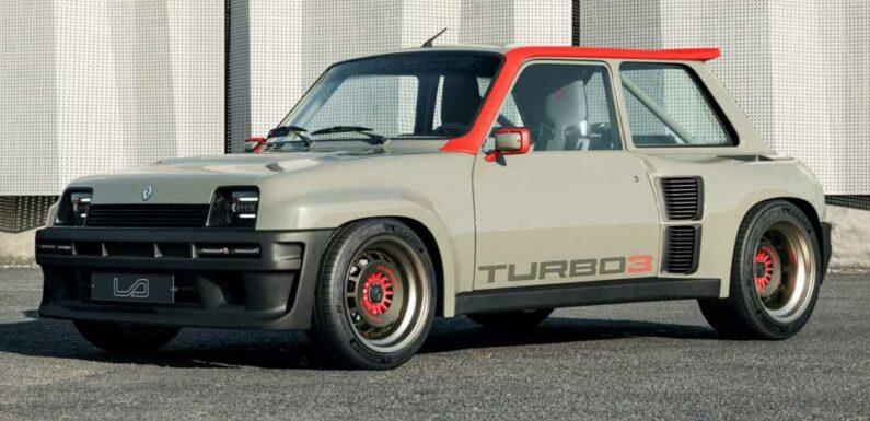 Renault 5 Turbo 3 Debuts As Widebody Restomod Bathed In Carbon Fiber