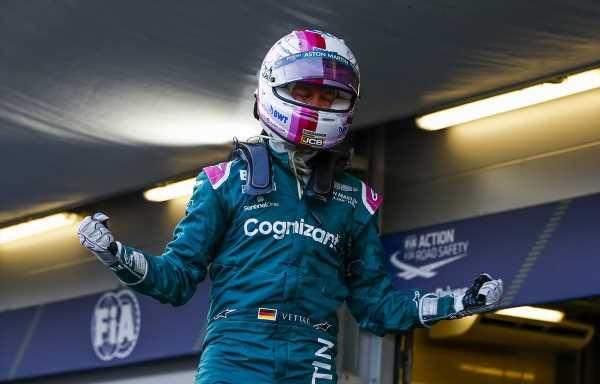 Sebastian Vettel hopes for some 'proper racing' at Silverstone