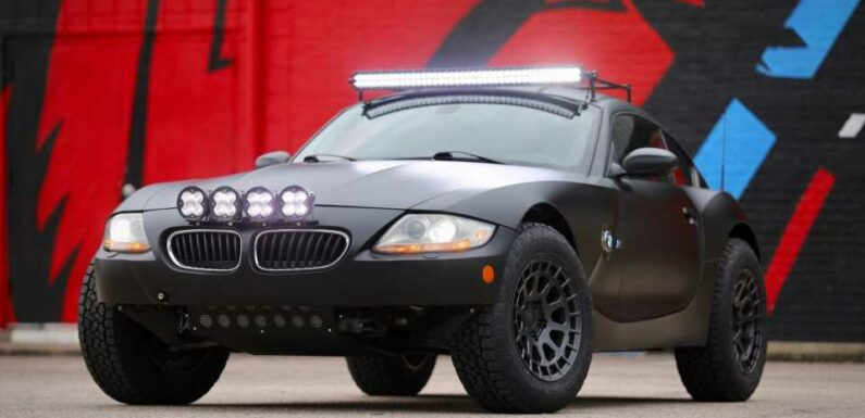 Someone Built a Safari BMW Z4 M So You Don't Have To. Now You Can Buy It