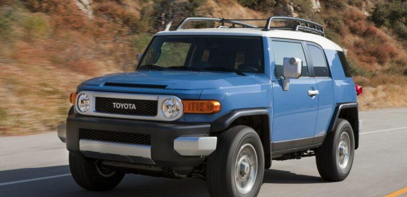 Someone In America Bought A Brand-New Toyota FJ Cruiser In 2021