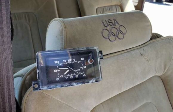The 1984 Olympics Edition Buick Century Told Time with This Clock