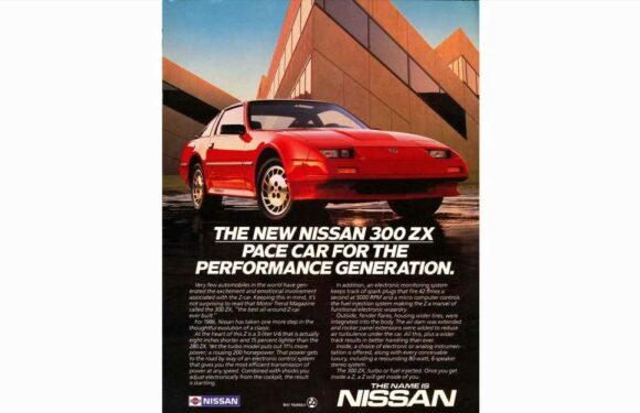 The 1986 Nissan 300ZX Turbo Is the Pace Car for the Performance Generation