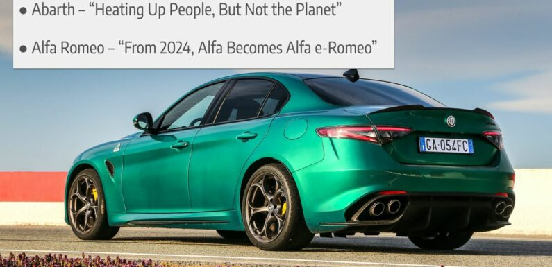 The Stellantis Brands Have New 'Green' Slogans And They're Pretty Terrible