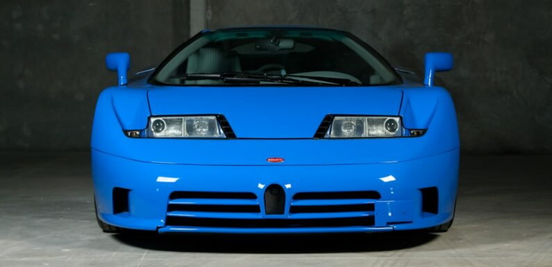 This 1994 Bugatti EB110 GT Prototype Is Up For Sale
