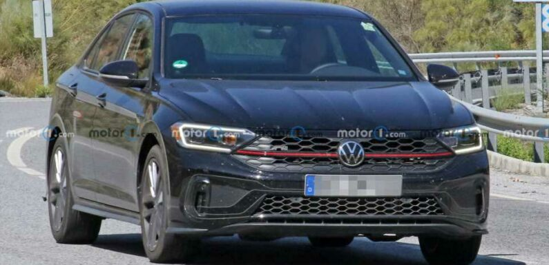VW Jetta GLI Facelift Spied Showing Tweaked Looks For First Time