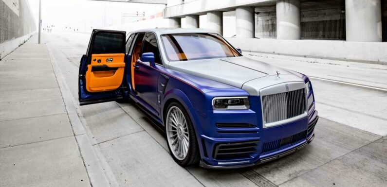 We Hate That We Kind of Like This Over-the-Top Rolls-Royce Cullinan