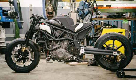 "Workhorse Speed Shop builds ""Black Swan"" and ""FTR AMA"", based on Indian Motorcycle FTR flat tracker – paultan.org"