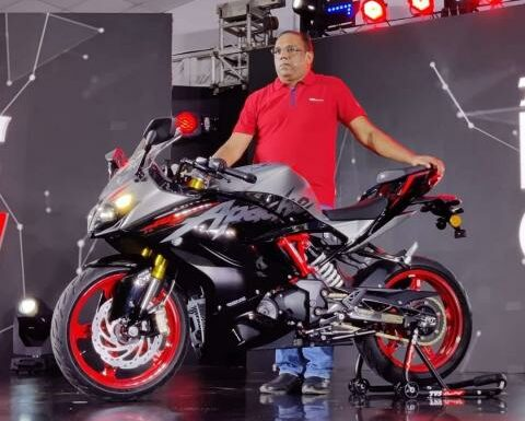 2021 TVS Apache RR 310 launched at Rs. 2.59 lakh