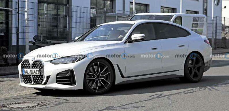 2022 Alpina B4 Gran Coupe Spied For The First Time
