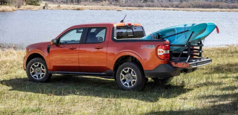2022 Ford Maverick Accessories List Includes Kayak Carrier, Awning, And More