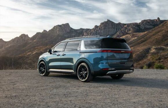 2022 Kia Carnival minivan earns IIHS Top Safety Pick honor