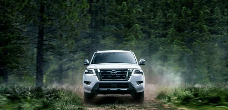 2022 Nissan Armada unchanged except for $500 price bump