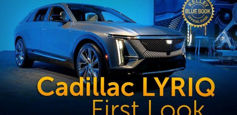2023 Cadillac Lyriq SUV: First Look