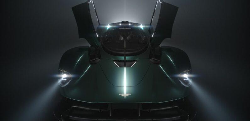 Aston Martin Valkyrie Roadster teased – Aug 12 debut – paultan.org