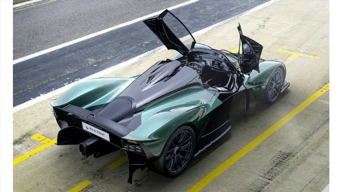 Aston Martin Valkyrie Spider First Look Review: Puts the Hype in Hypercar