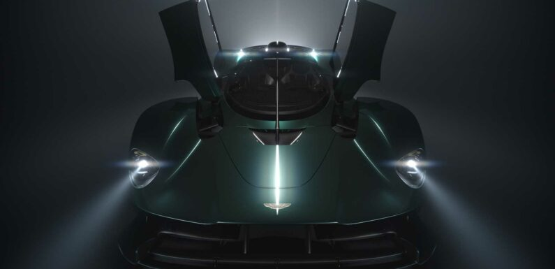 Aston Teases Roofless Valkyrie Roadster For Pebble Beach Debut