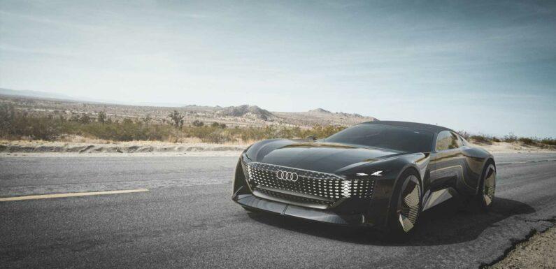Audi Skysphere Concept Has a Variable Wheelbase