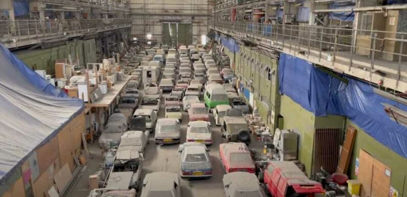 Be Amazed By This Massive Barn Find Of 175 Classic Cars In London