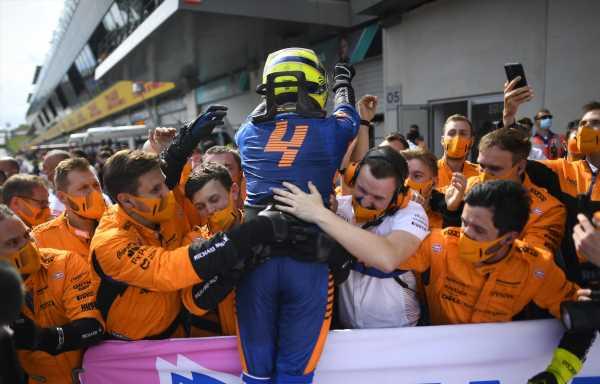 Chandhok thought Ricciardo would 'trouble' Norris