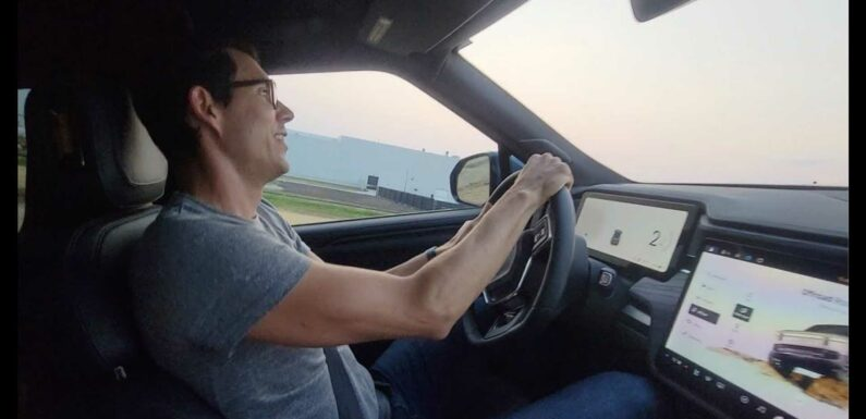 Check Out Videos From Rivian Experience Days: Off-Road Drift Mode
