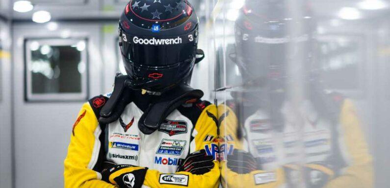 Corvette Racing's Jordan Taylor Pays Tribute to Dale Earnhardt With Le Mans Helmet