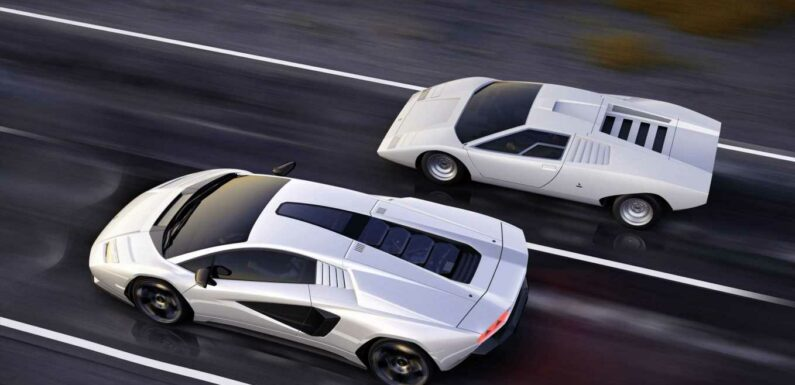 Countach is Back, Baby!