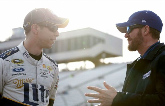 Dale Earnhardt Jr. Sees Challenges Ahead for Brad Keselowski at Roush