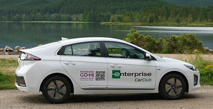 Enterprise Car Club Adds Electric Vehicles to Fleet