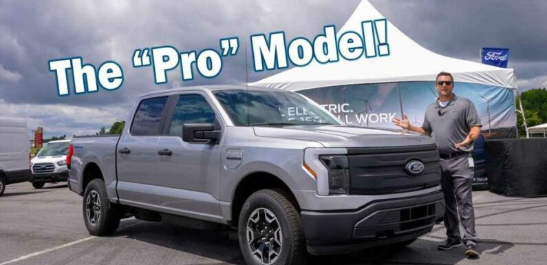 F-150 Lightning Pro Review & Test Ride: What Do You Get For $39K?