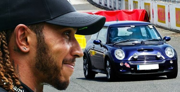 F1 champion Lewis Hamilton drove 'very modest' Mini Cooper as his first car 20 years ago