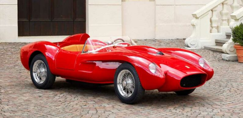 Ferrari Goes All Electric With New Testa Rossa J, But There's A Catch