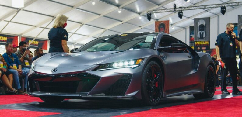 First Acura/Honda NSX Type S auctioned for RM4.7m – paultan.org